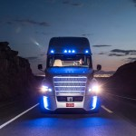 The World S First Self Driving Semi Truck Hits The Road Wired