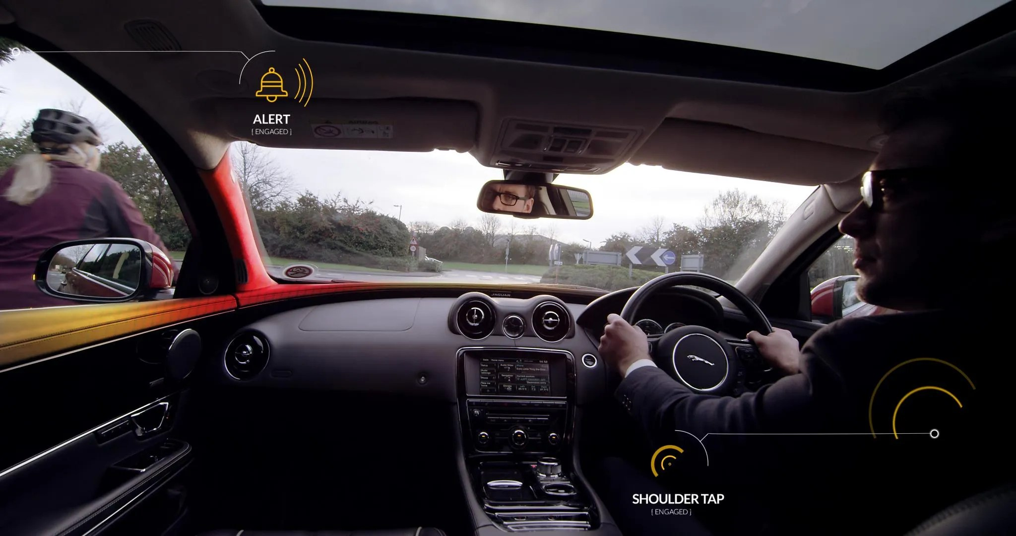 Jaguar Land Rover s Virtual Backseat Driver Could Stop You Hitting