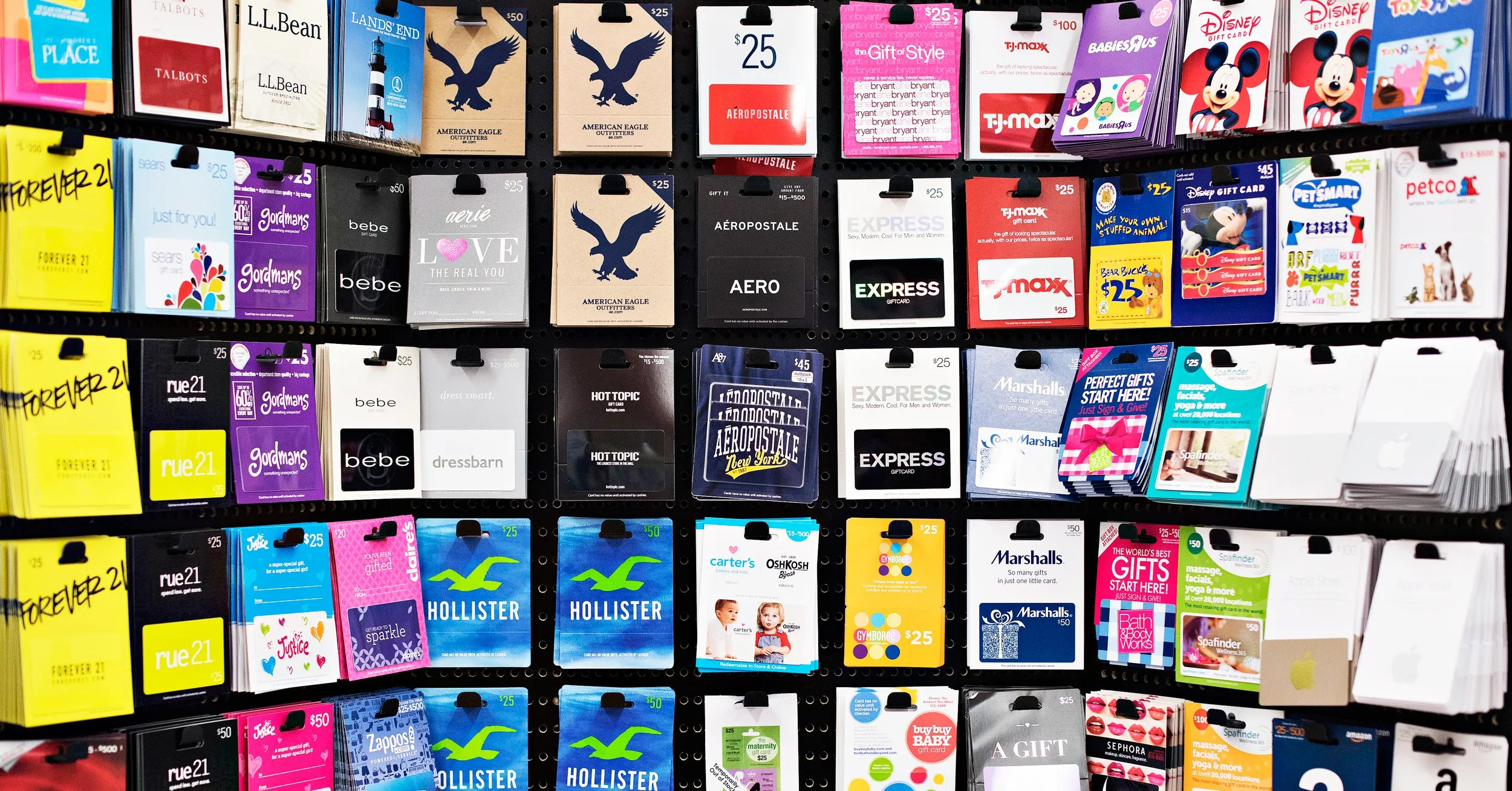 What To Do With All Those Gift Cards You Just Got WIRED