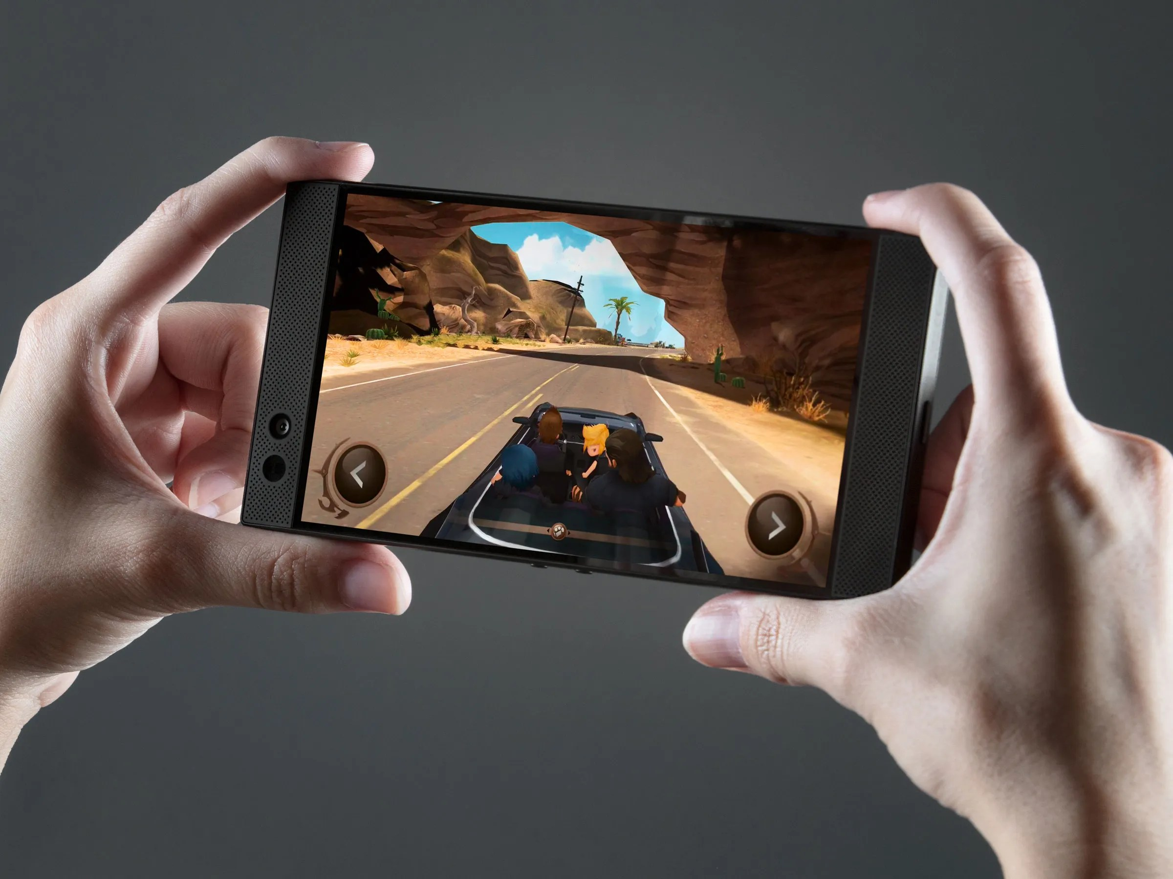 Razer Phone  Specs  Price  Release Date   WIRED Razer Debuts Its First Phone  and It s Built for Games