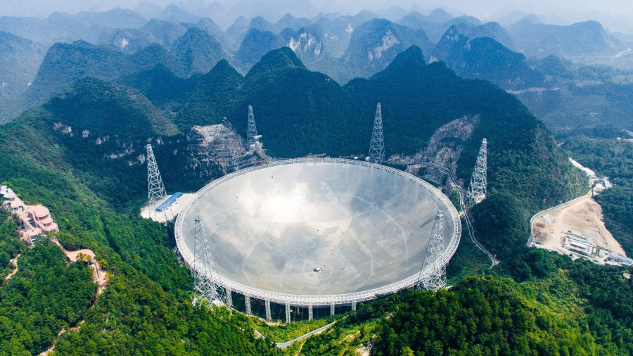 China Built the World s Largest Telescope  Then Came the Tourists     China Built the World s Largest Telescope  Then Came the Tourists