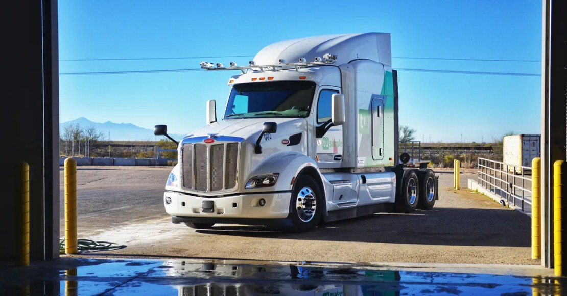 TuSimple's Robotruck Cameras See Twice as Far as Any Lidar