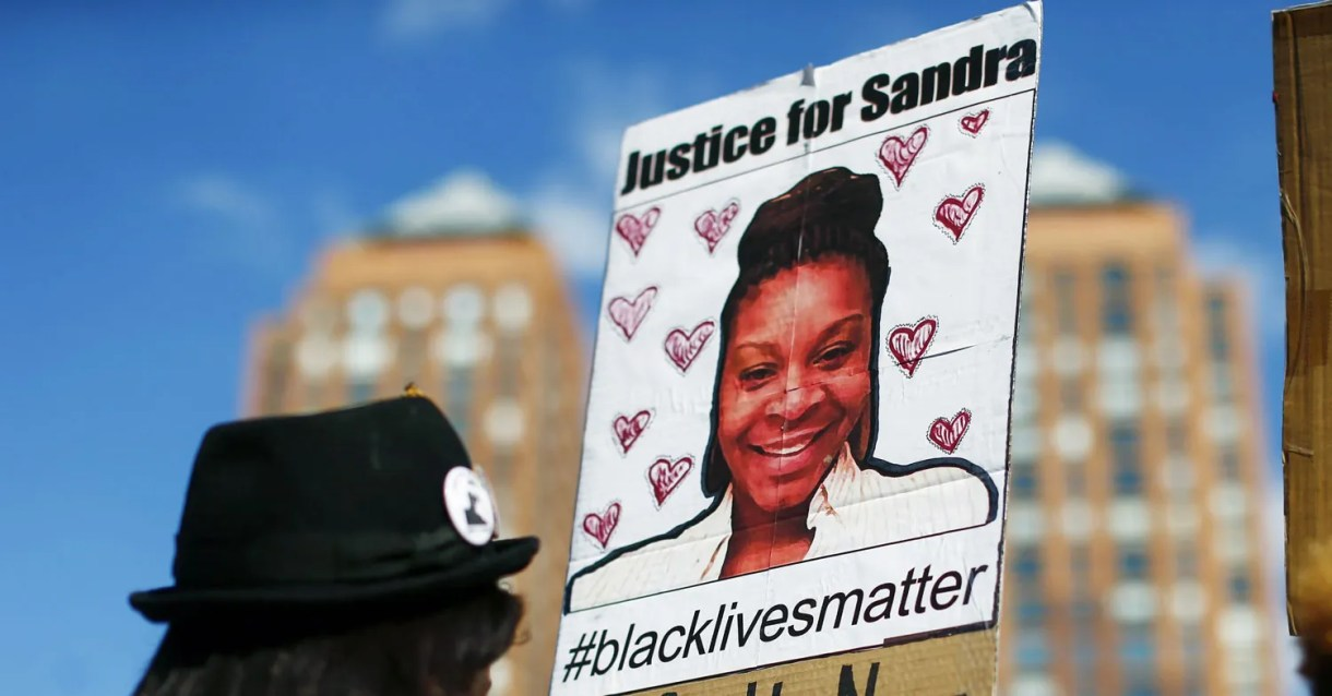 The Energy of Sandra Bland's Cellphone Video 2