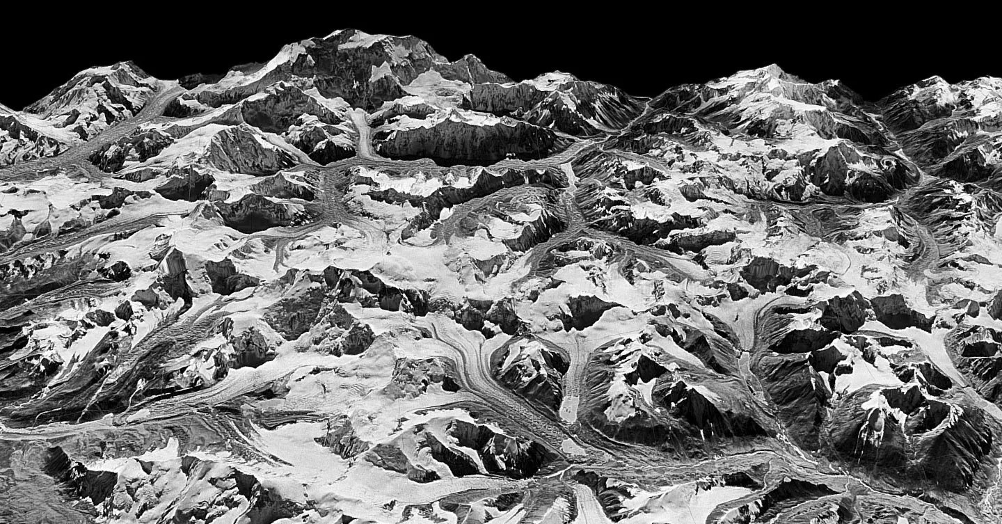 Science_Himilayas_TA Cold War Spy Photos Show How Fast Himalayan Glaciers Are Melting