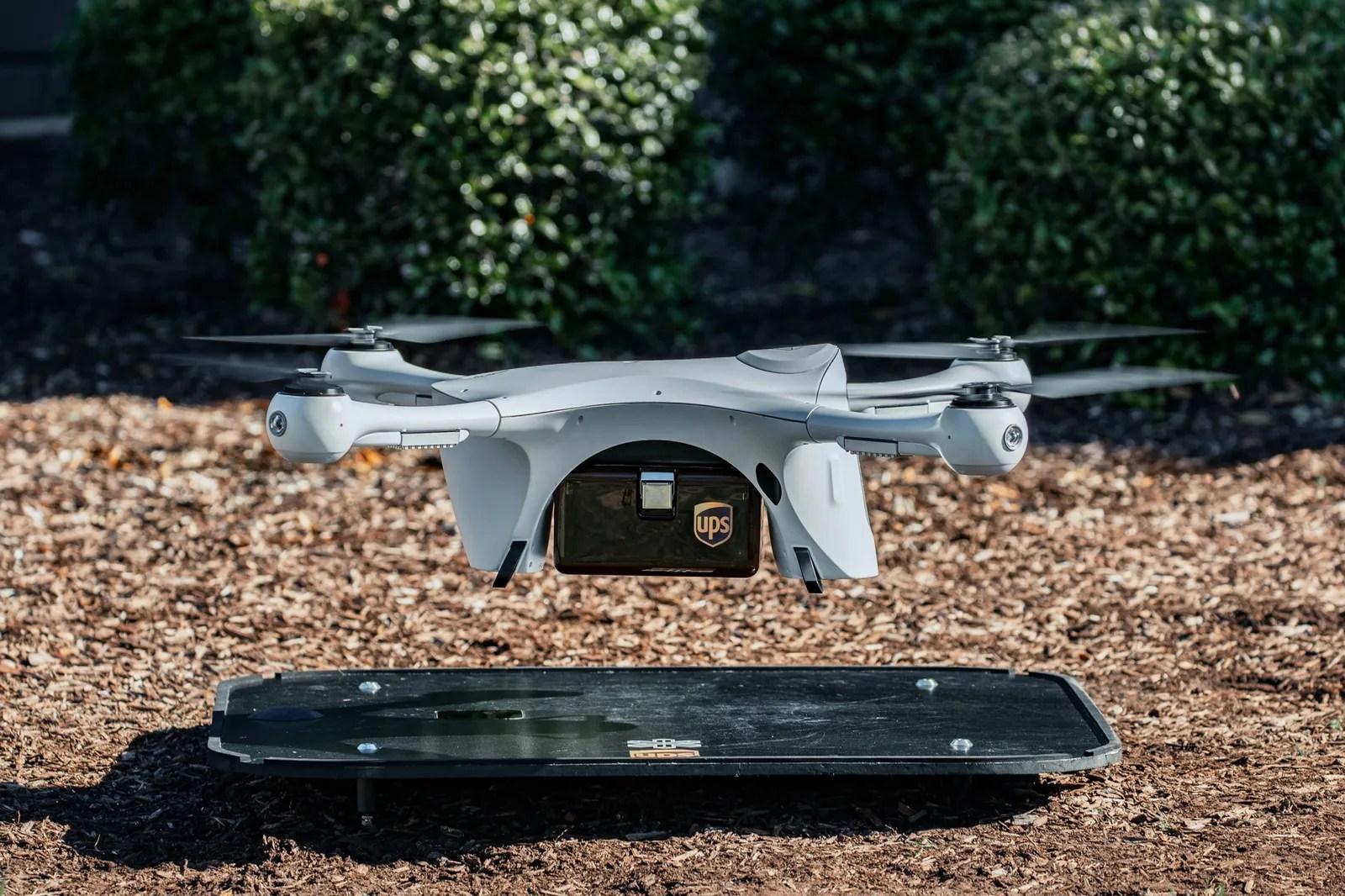 a landing drone