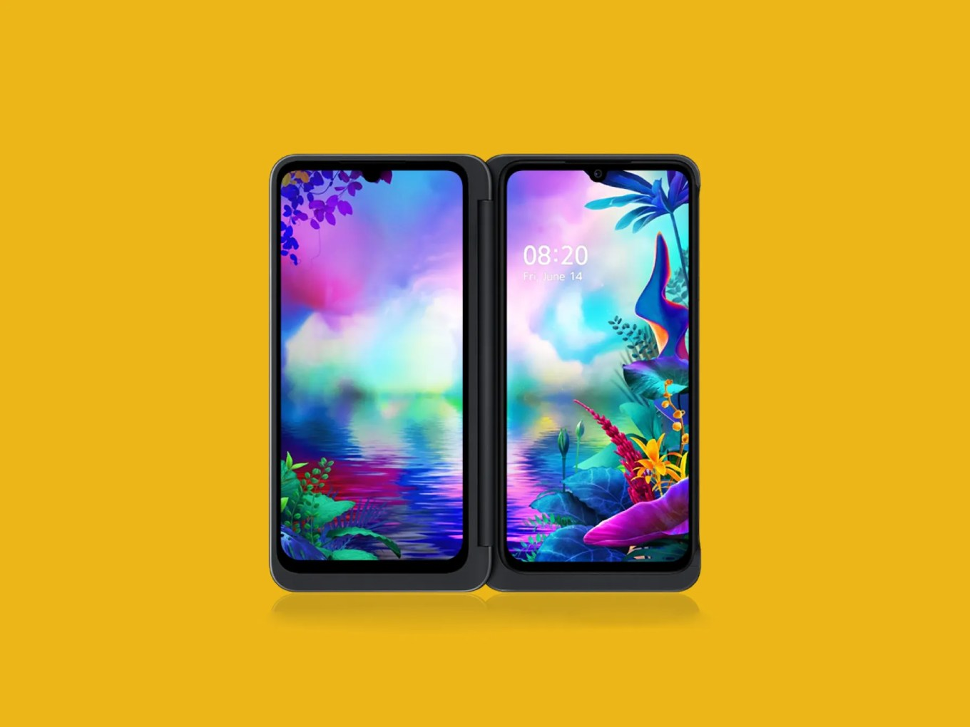 Resultado de imagen para LG G8X ThinQ with Dual Screen