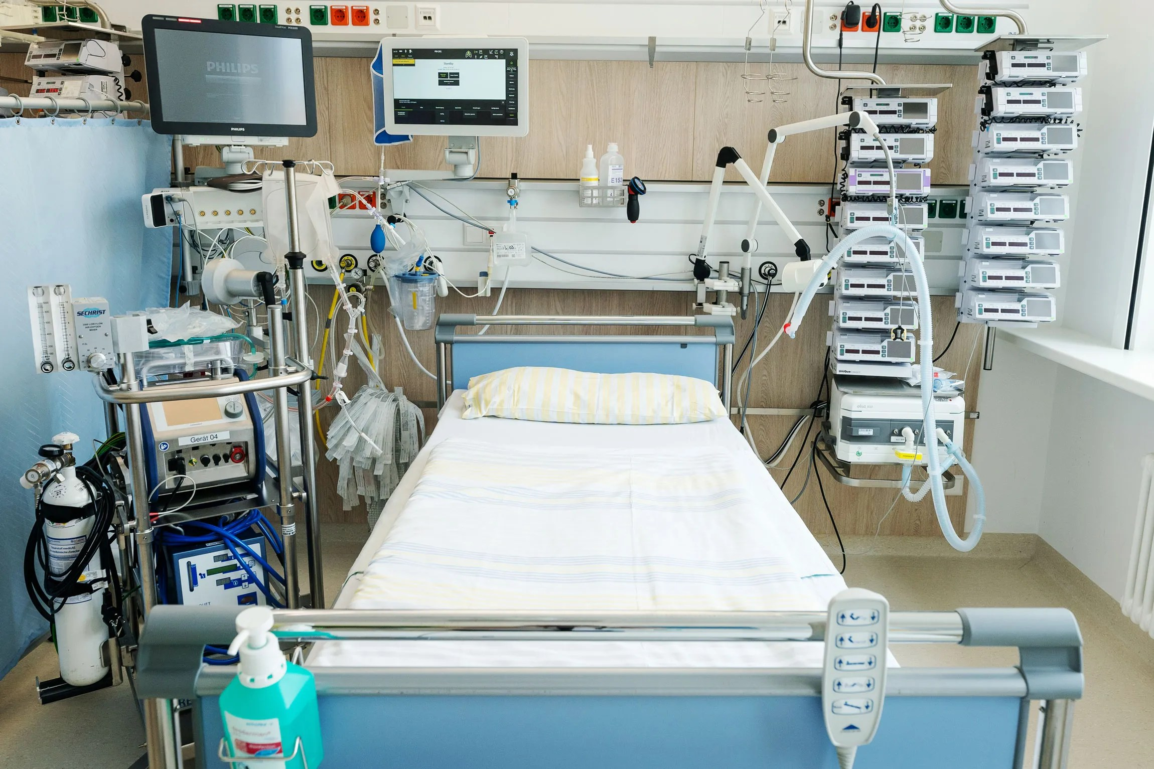 Ventilator Makers Race To Prevent A Possible Shortage Wired