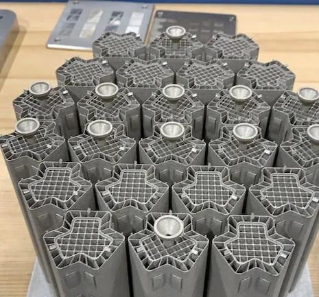 3D printed nuclear reactors