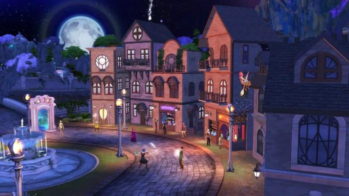 Sims 4.  still from screen