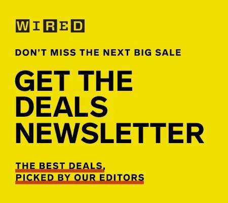 Sign up for the Deals newsletter