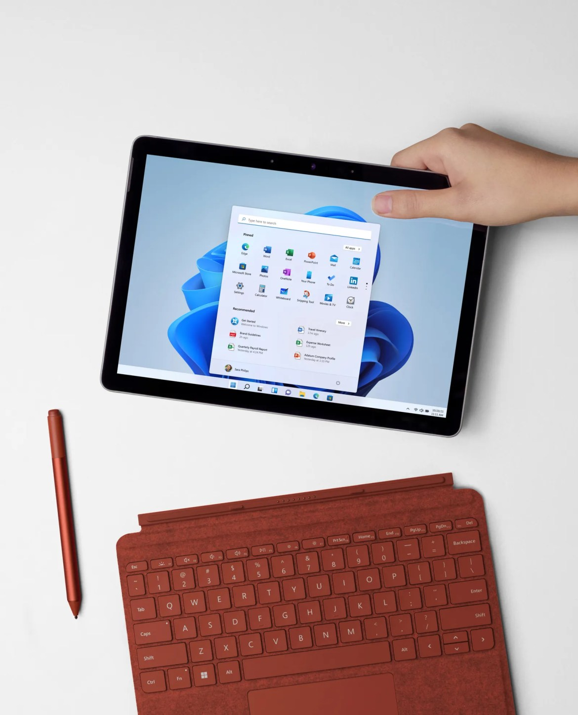 microsoft surface go 3 with keyboard and pen