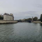 Panorama Paris - Seine och Île Saint-Louis av Johan Wistbacka