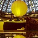 Panorama Paris - Taket i kafét på Printemps