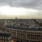 Panorama över Paris från Printemps tak av Johan Wistbacka