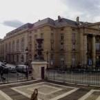 Panorama från Pantheon i Paris