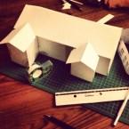 Provbygge av pepparkakshus