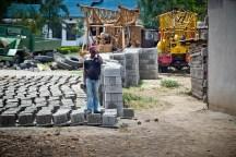 Man på bygge, Tanzania