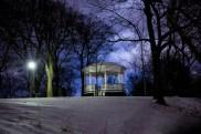 Paviljong i Vita bergen.