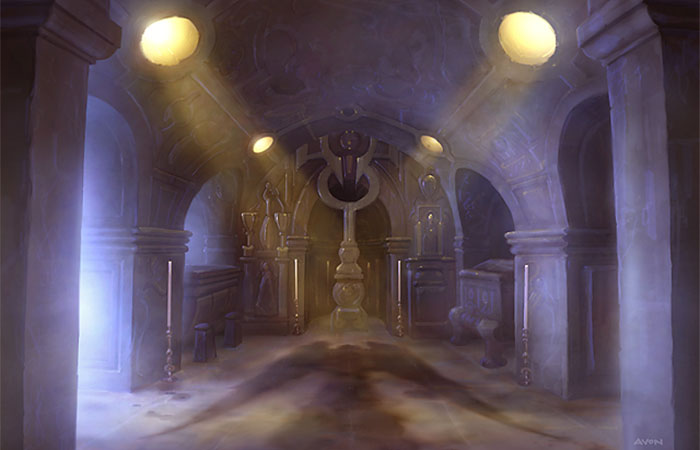 Image result for vault of the archangel art