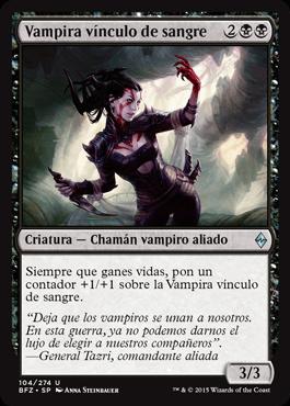 Vampira vínculo de sangre