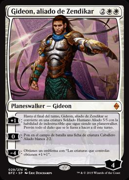 Gideon, aliado de Zendikar