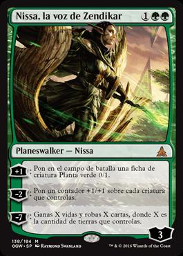 Nissa, la voz de Zendikar