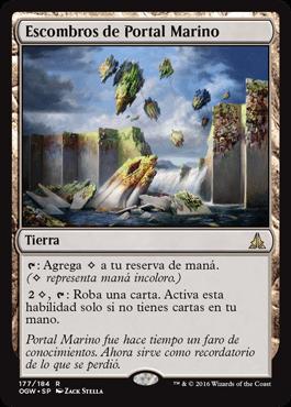 Escombros de Portal Marino