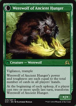 Werewolf of Ancient Hunger