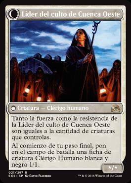 Líder del culto de Cuenca Oeste