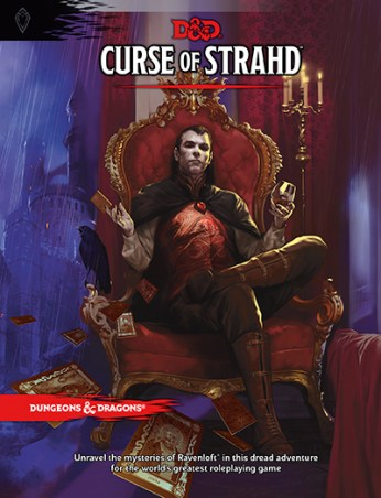 Äventyret Curse of Stradh till Dungeons & Dragons (5th edition)