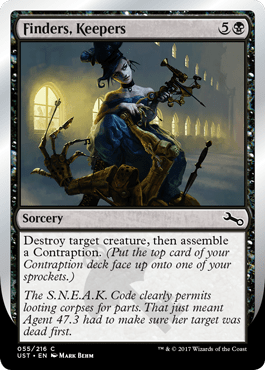 Unstable MAGIC THE GATHERING