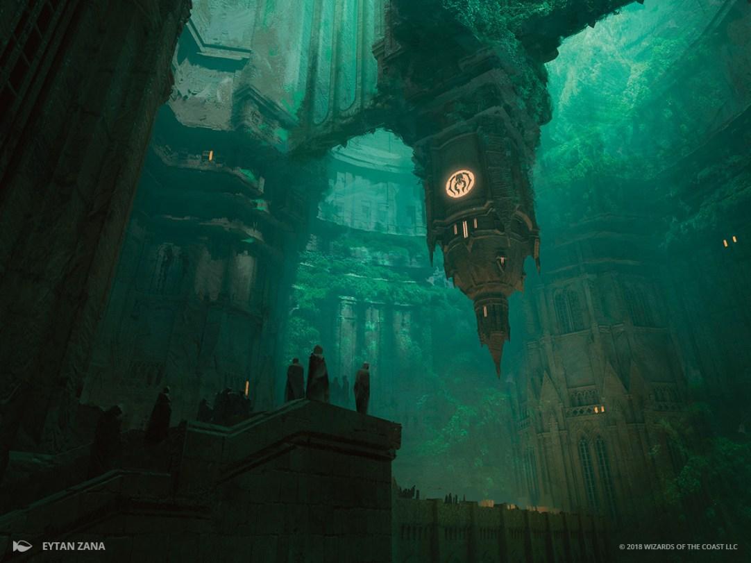 Image result for golgari guildgate art