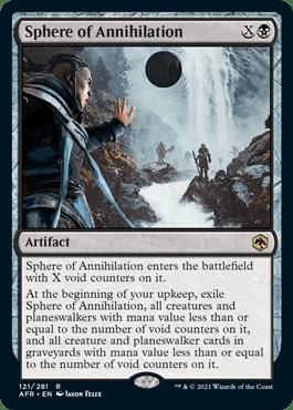 Sphere of Annihilation