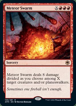 Meteor Swarm