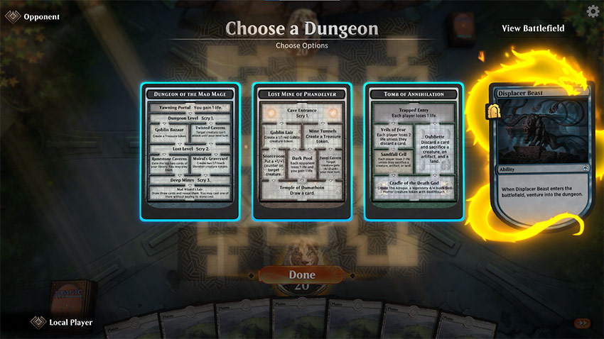 Dungeon revealed