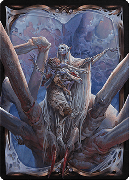 Lolth, Spider Queen card sleeve image