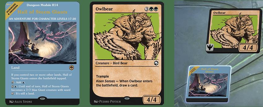Module land/Rulebook Owlbear Styles on battlefield