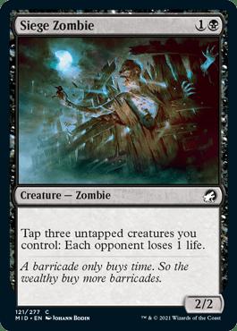 Siege Zombie