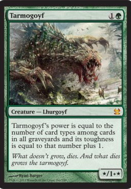 Image of the new 'Modern Masters' Tarmogoyf