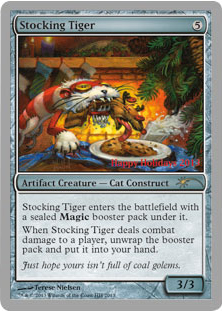 A Visit From The Holiday Promo Daily MTG Magic The