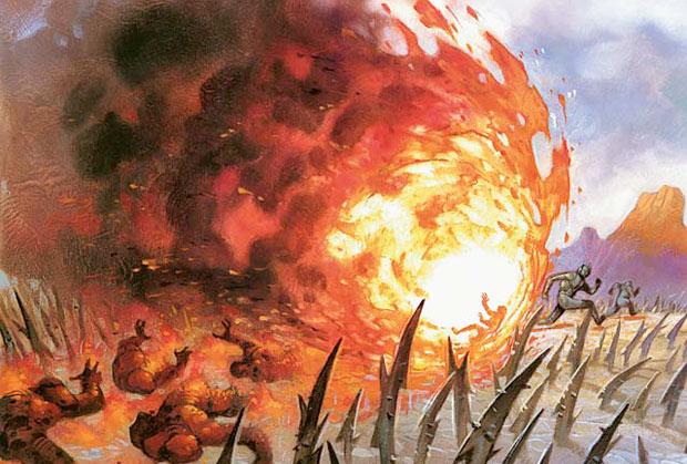 Image result for Fireball spell
