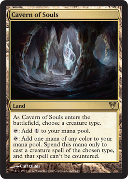 In Response The Motivation Behind Cavern Of Souls And Mtg Design