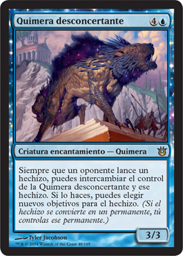 Quimera desconcertante