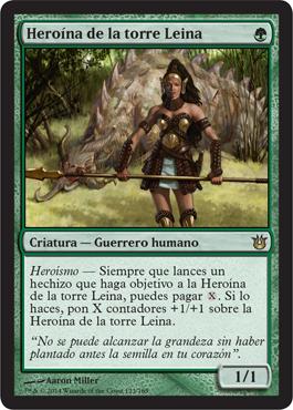 Heroína de la torre Leina