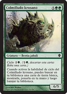 Colmilludo krosano