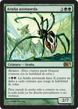 Araña azotaseda