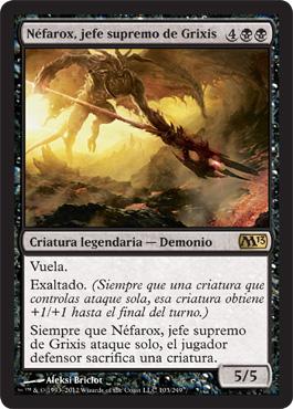 Néfarox, jefe supremo de Grixis