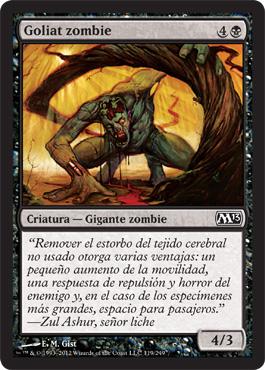Goliat zombie