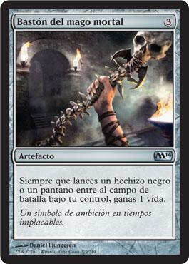 Bastón del mago mortal