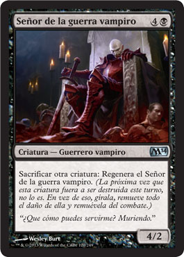Señor de la guerra vampiro